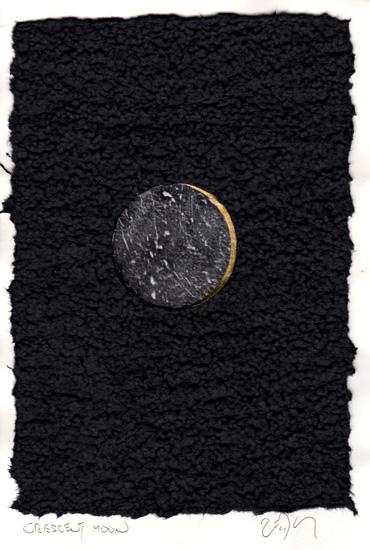 """""""Crescent moon - Croissant de lune"""""""
