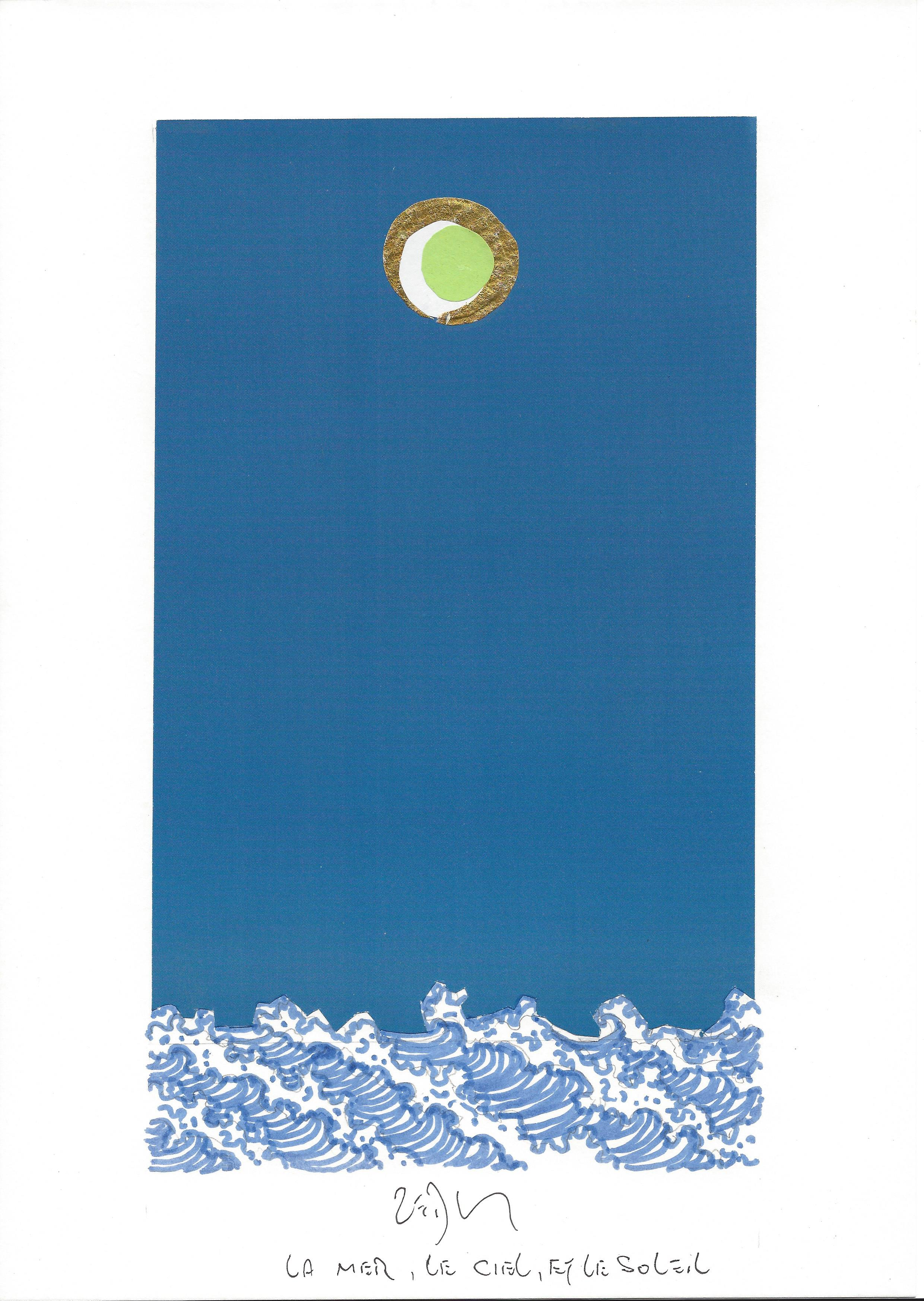"""""""Sea, sky, and sun – La mer, le ciel et le soleil"""""""