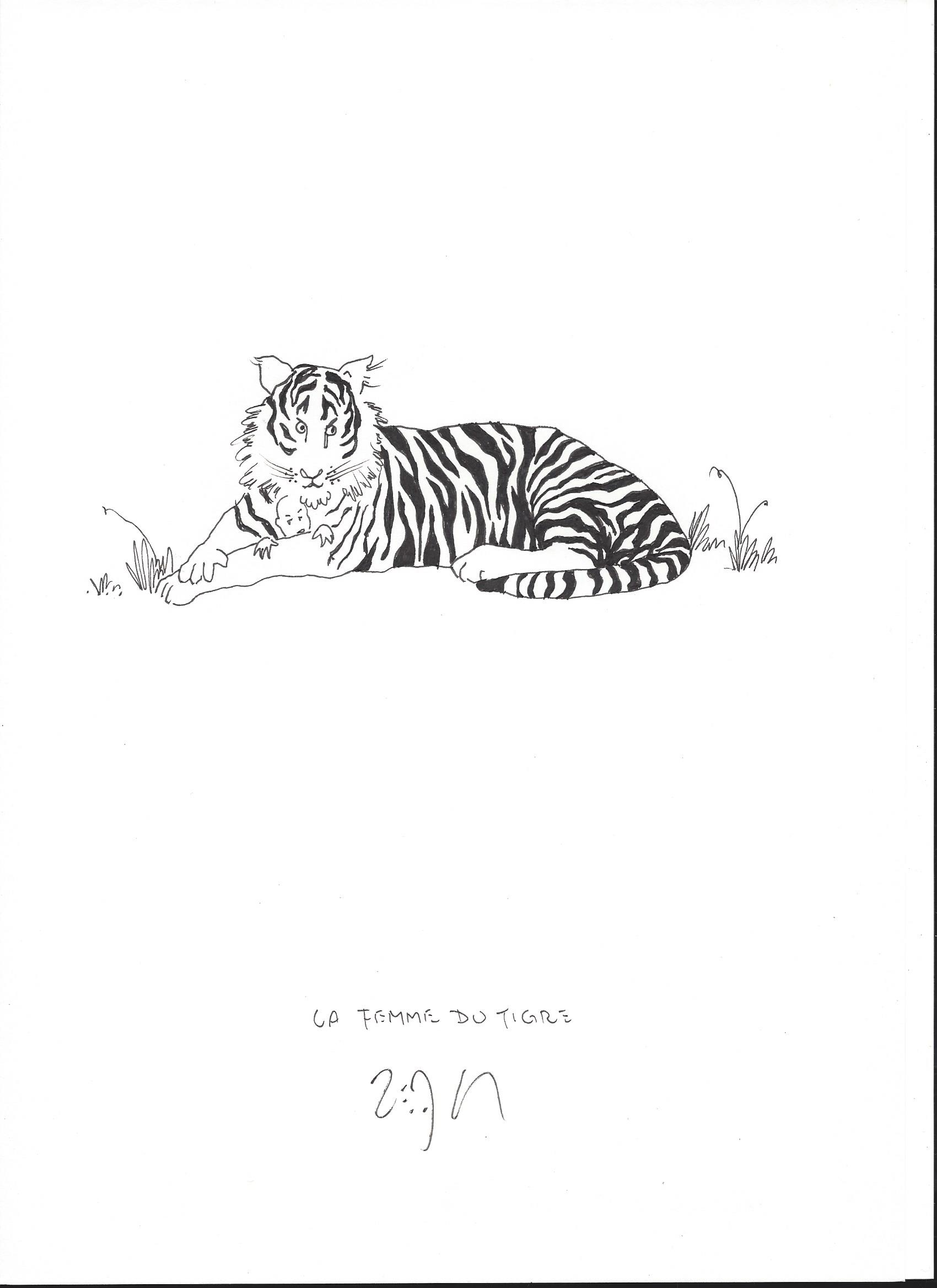 « The tiger's wife – La femme du tigre »
