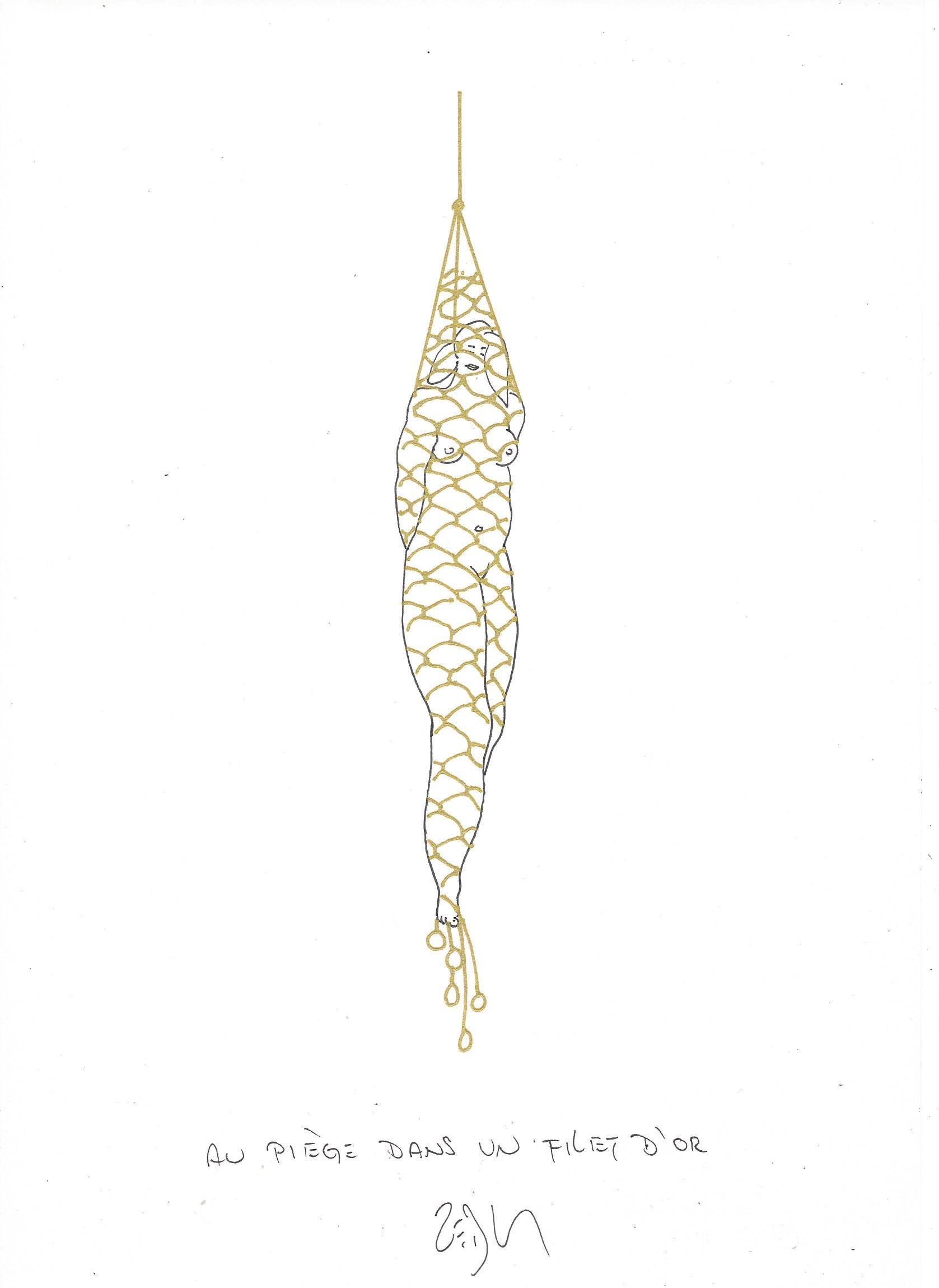 « Caught in a net of gold – Au piège dans un filet d'or »
