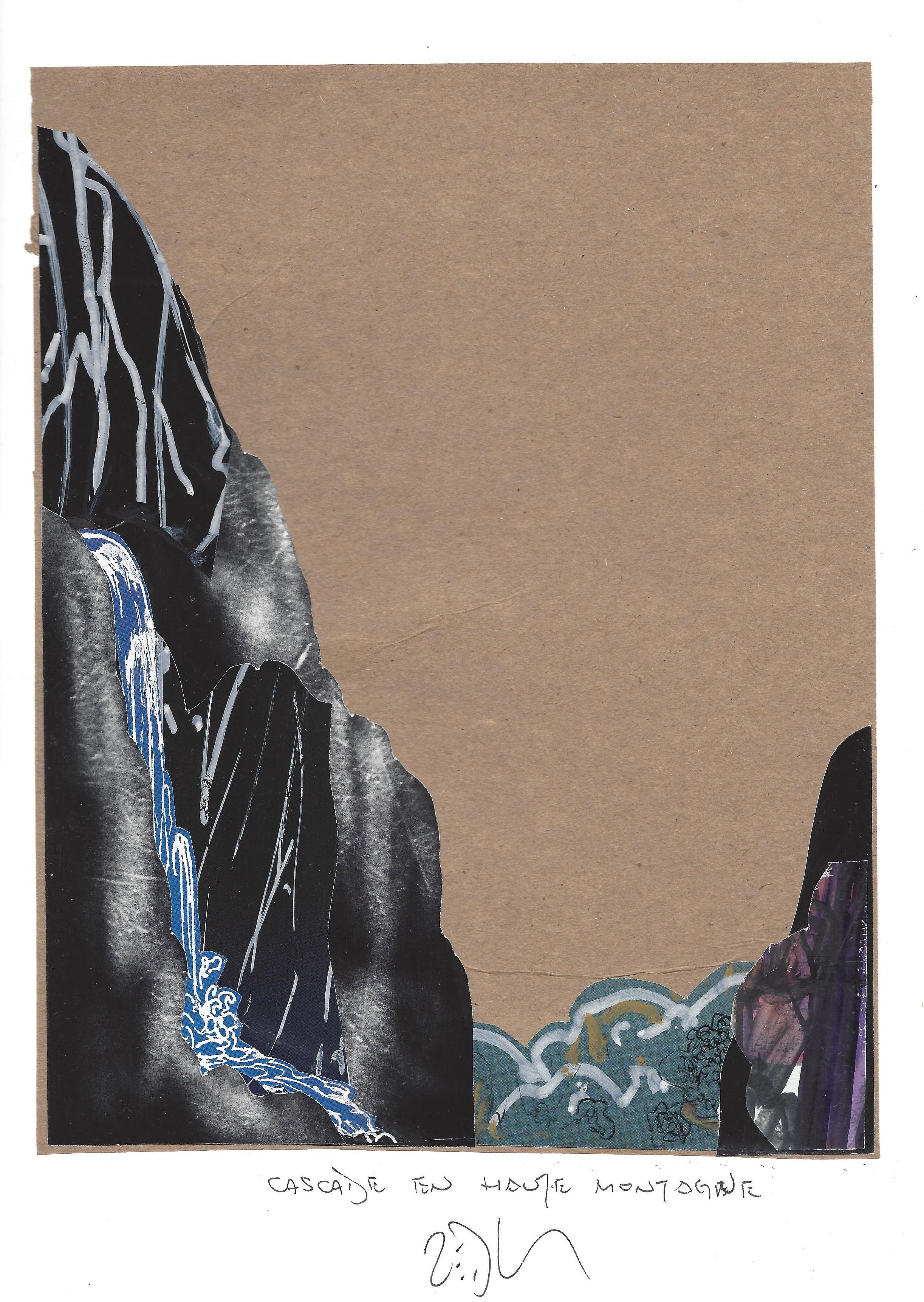 « High mountain cascade – Cascade en haute montagne »