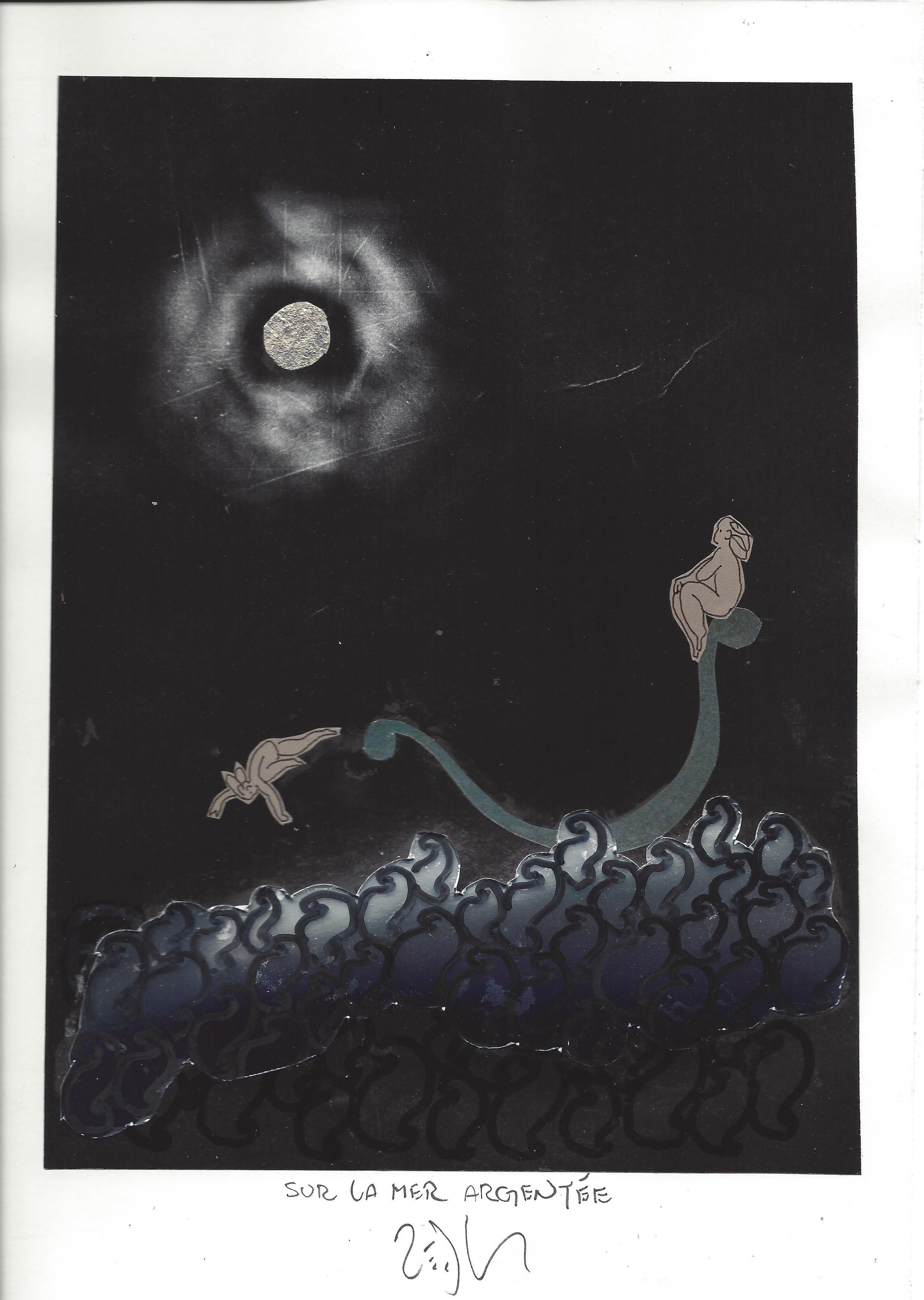 « On the silver sea – Sur la mer argentée »
