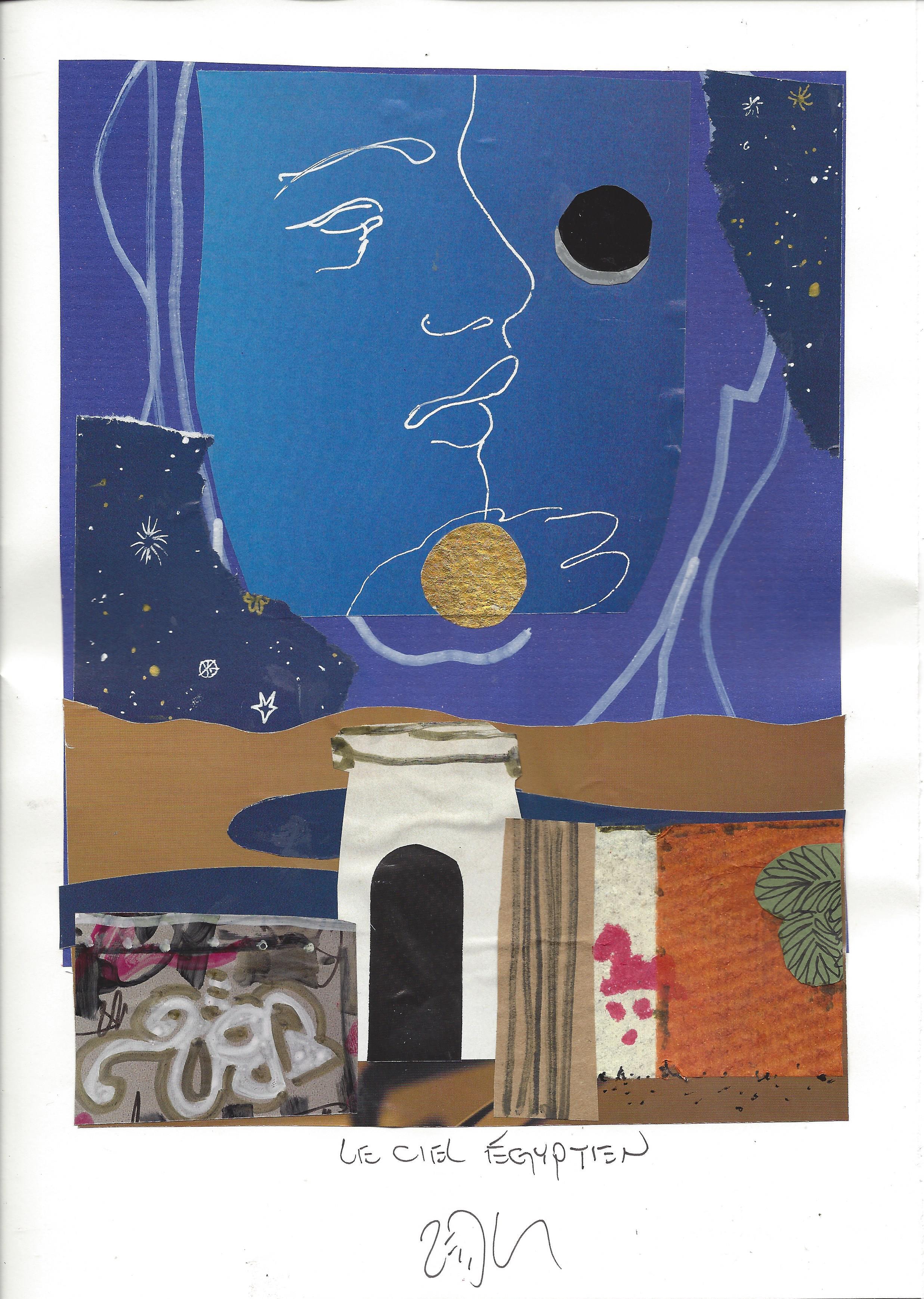 « The egyptian sky – Le ciel égyptien »