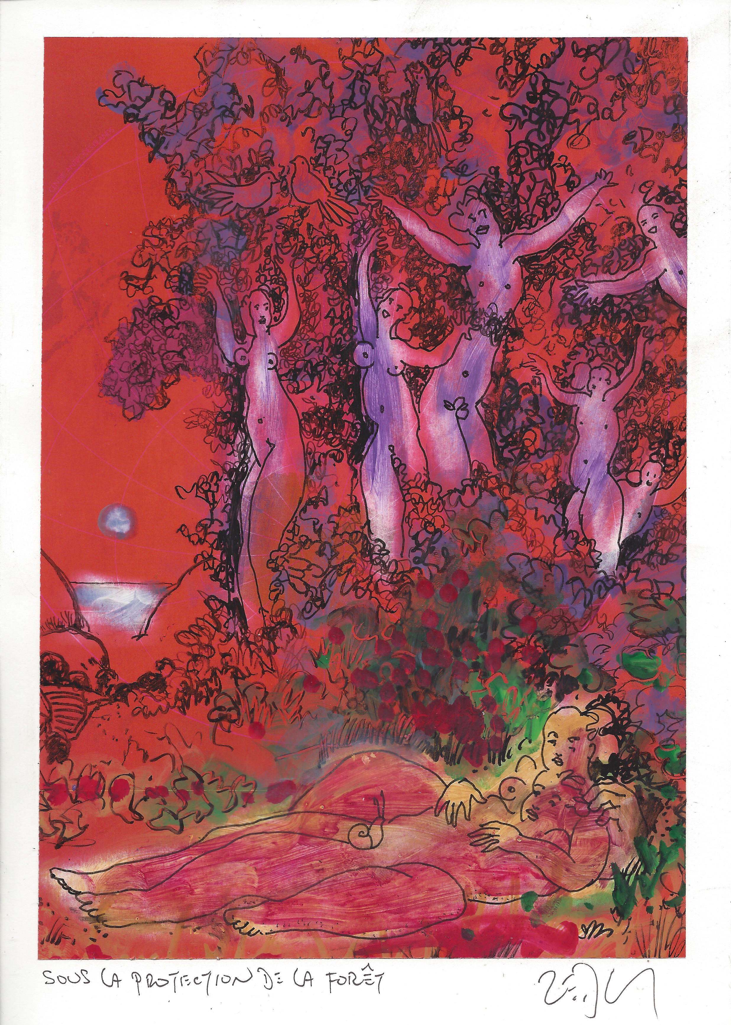 « In the sheltering forest – Sous la protection de la forêt »