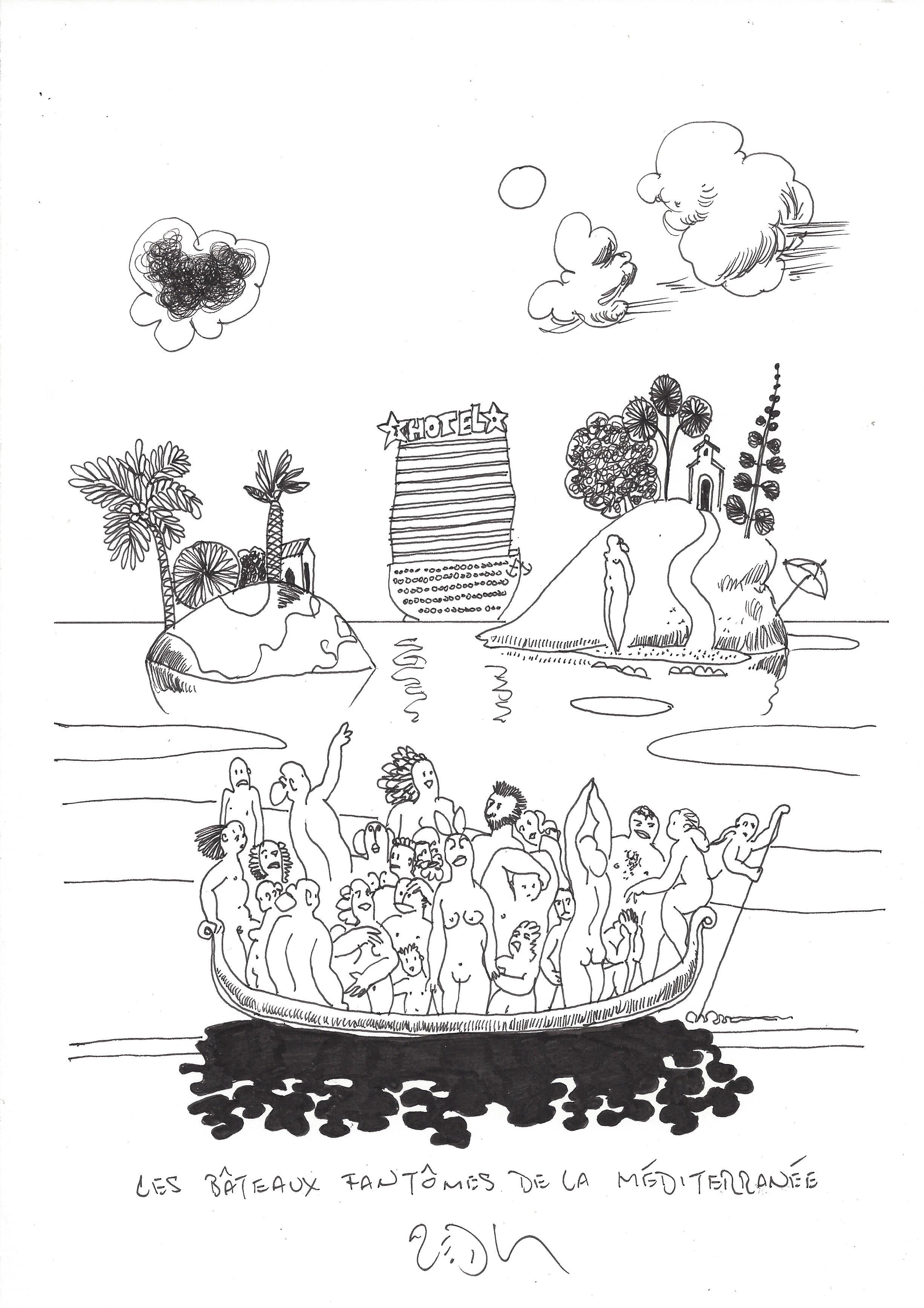 « Ghost ships of the Mediterranean – Les bâteaux fantômes de la Méditerranée »