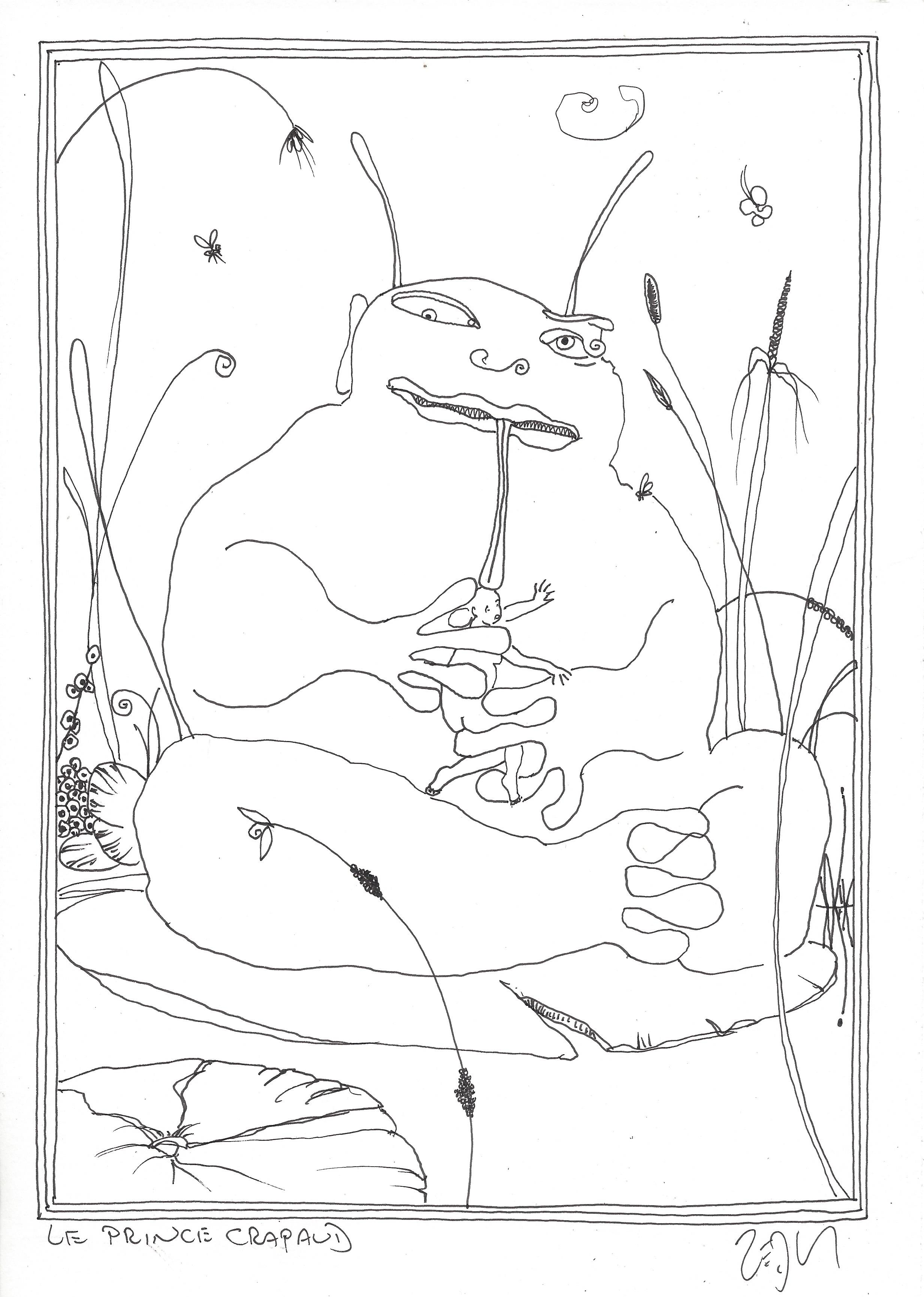 « The Frog Prince – Le Prince Crapaud »