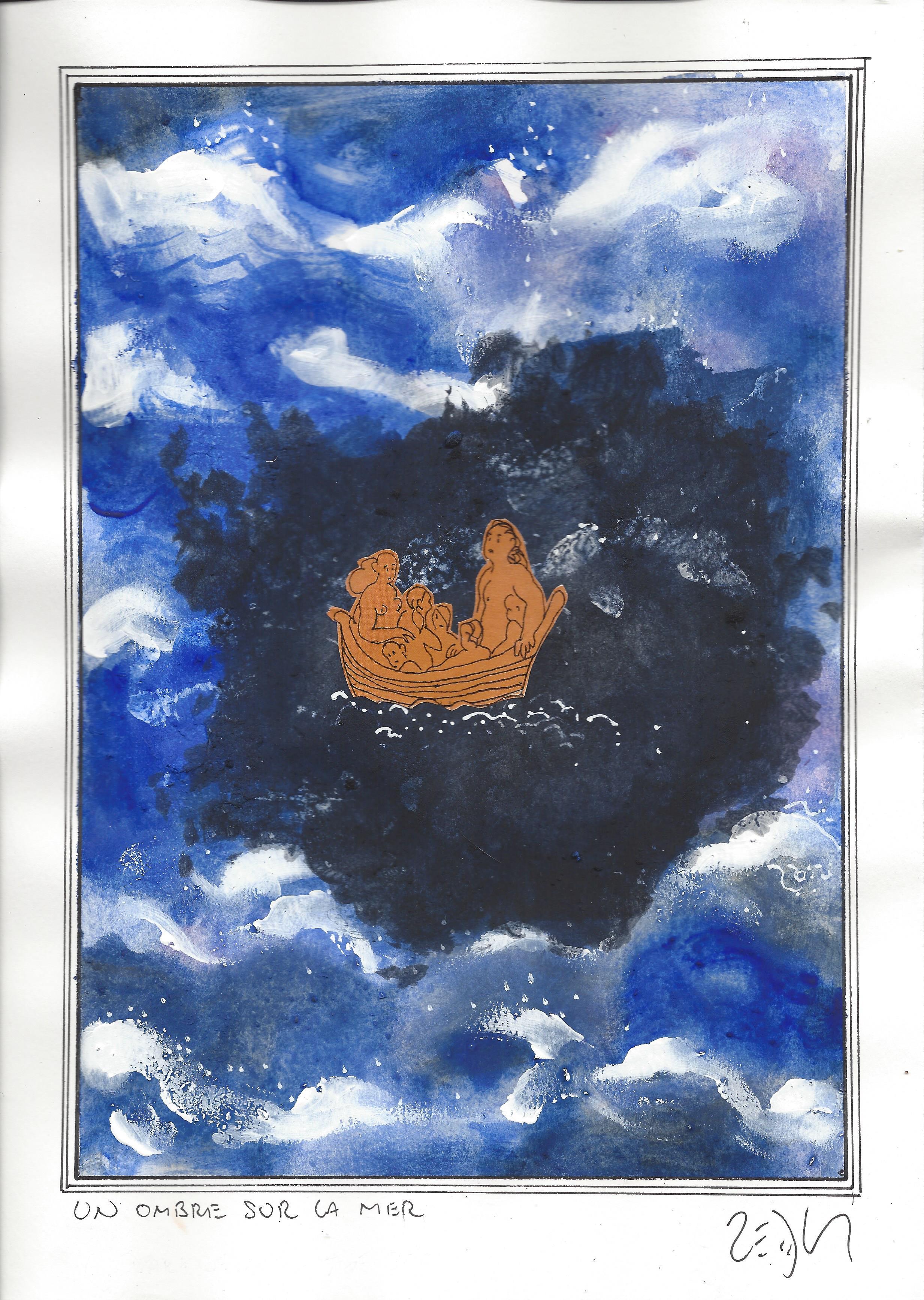 « A darkness on the sea – Un ombre sur la mer »