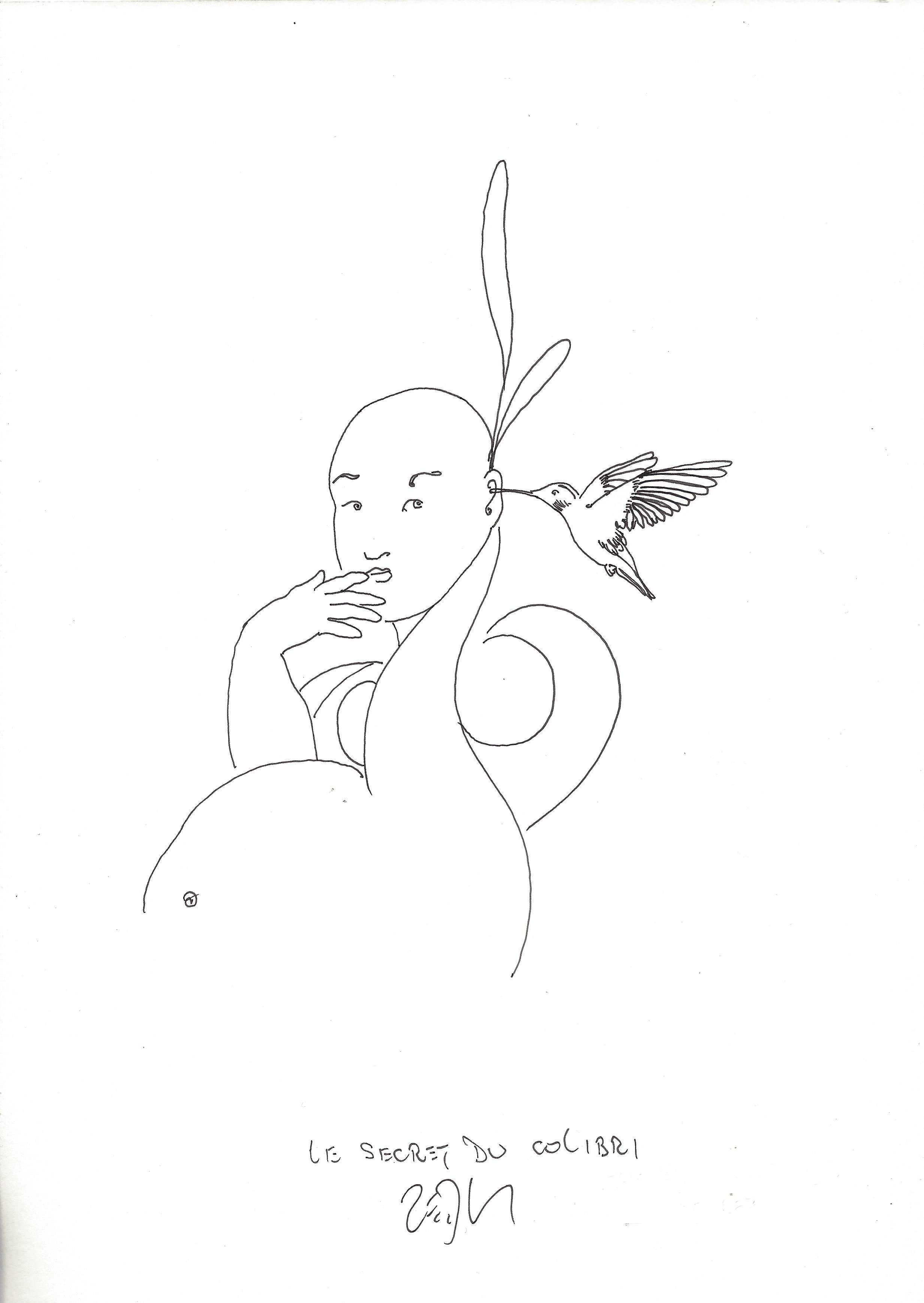 « The hummingbird's secret – Le secret du colibri »