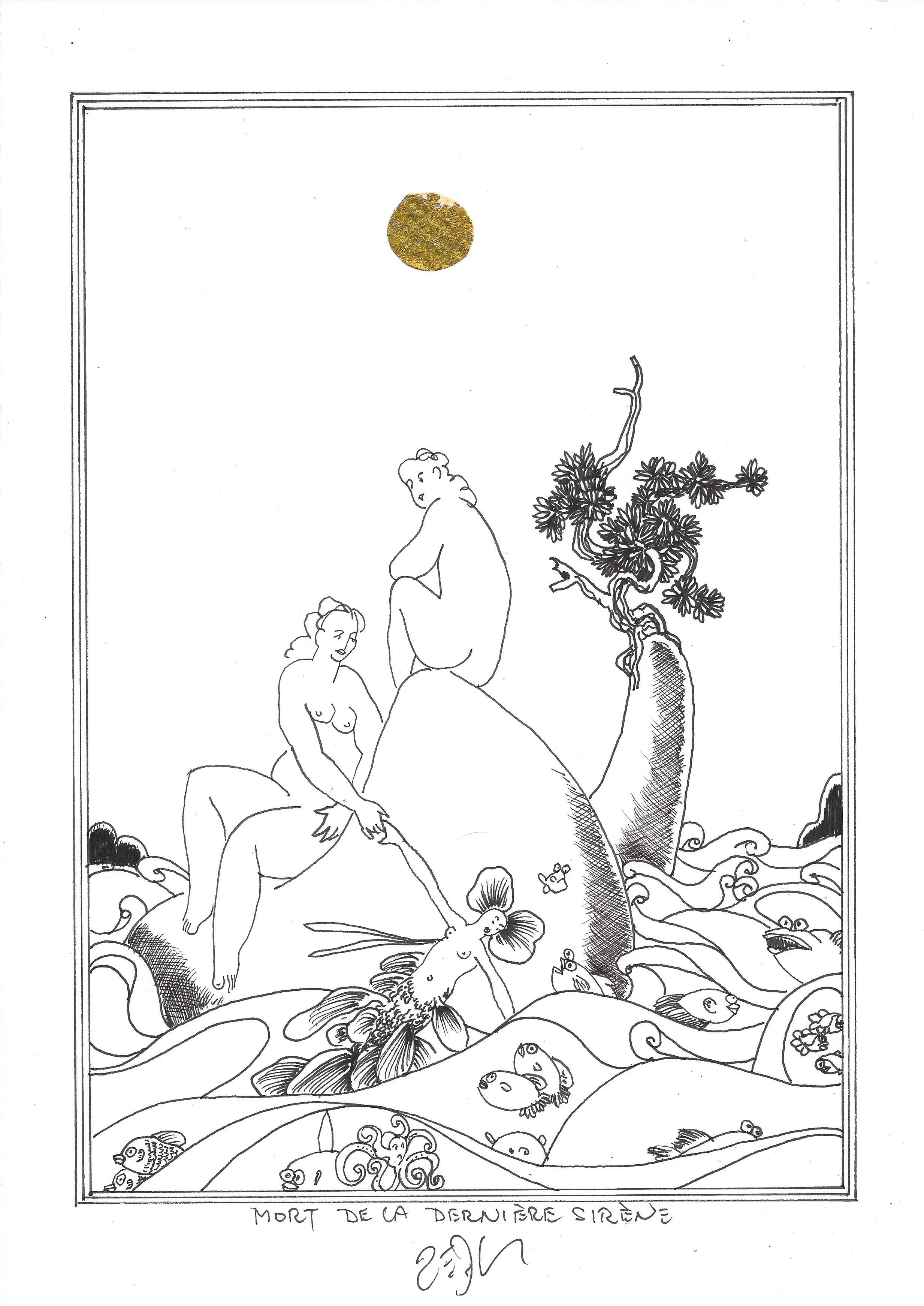 « Death of the last mermaid – Mort de la dernière sirène »