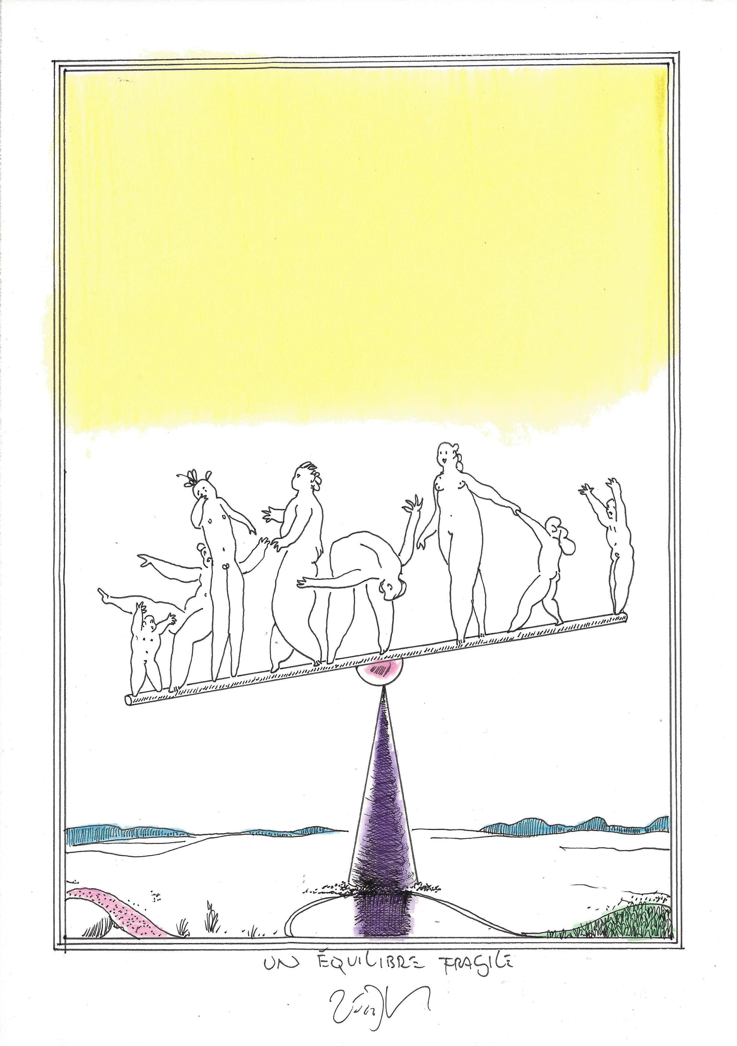 « Keeping the balance – Un équilibre fragile »