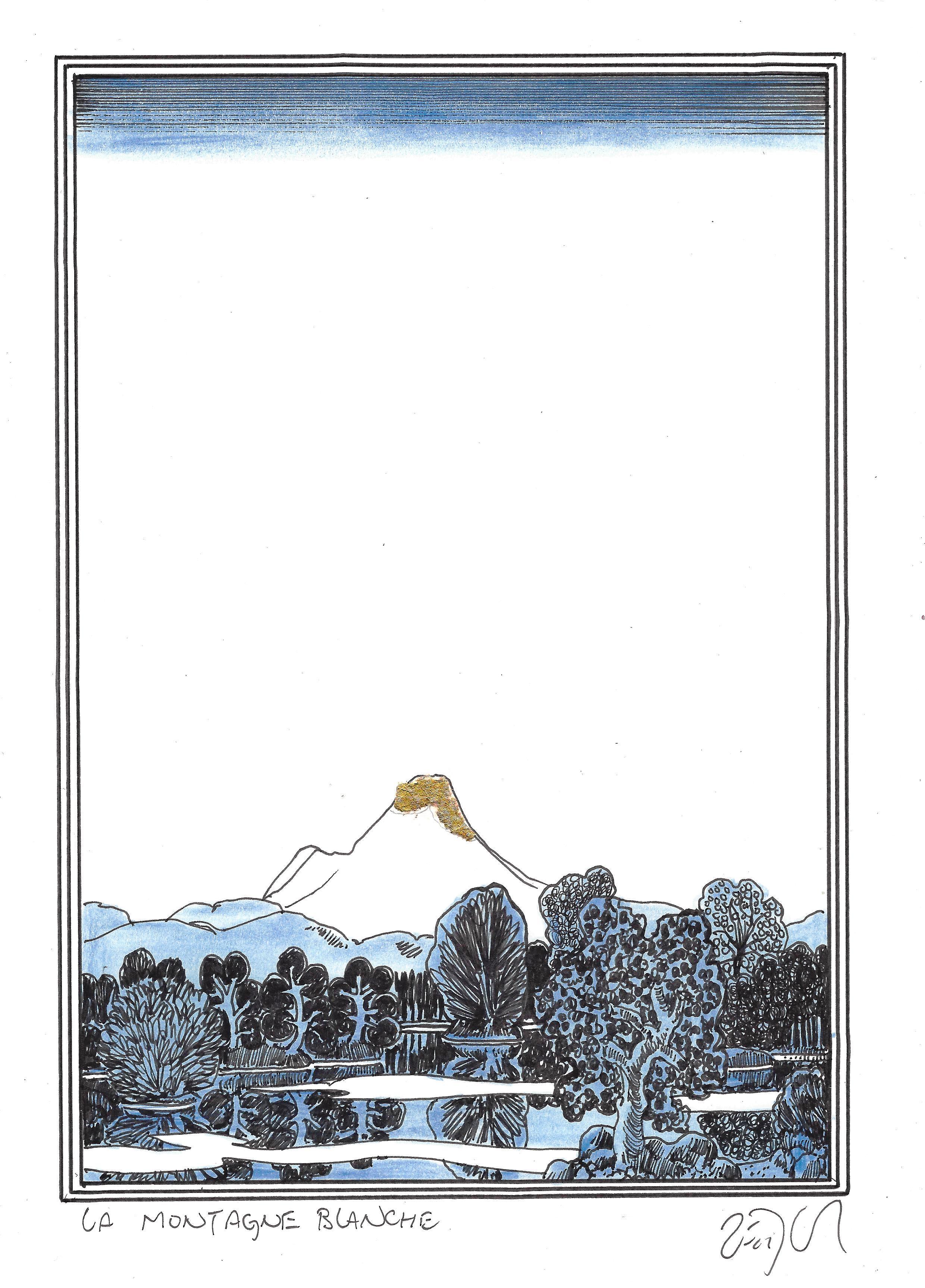« The white mountain – La montagne blanche »