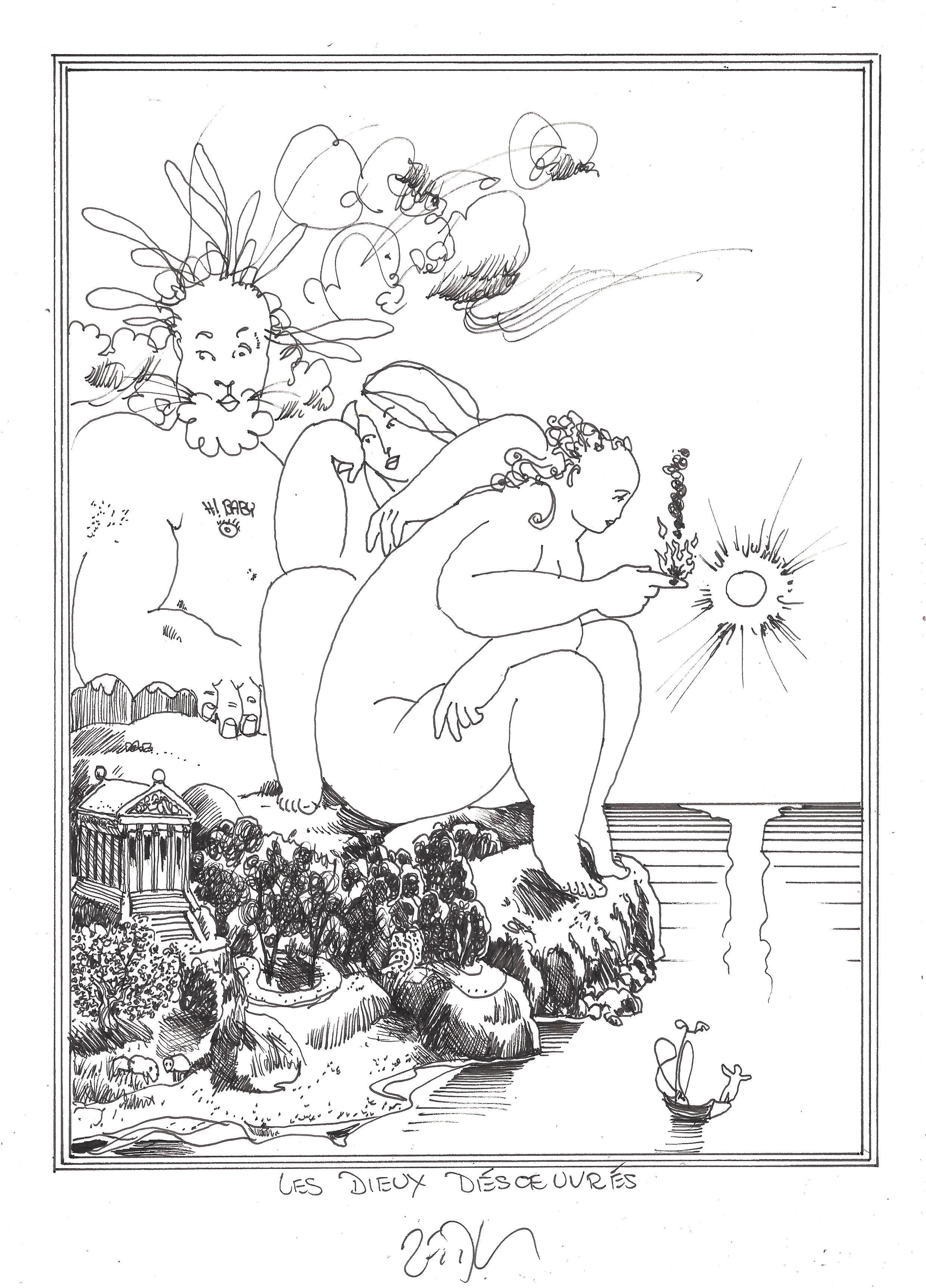 « The bored gods – Les dieux désœuvrés »