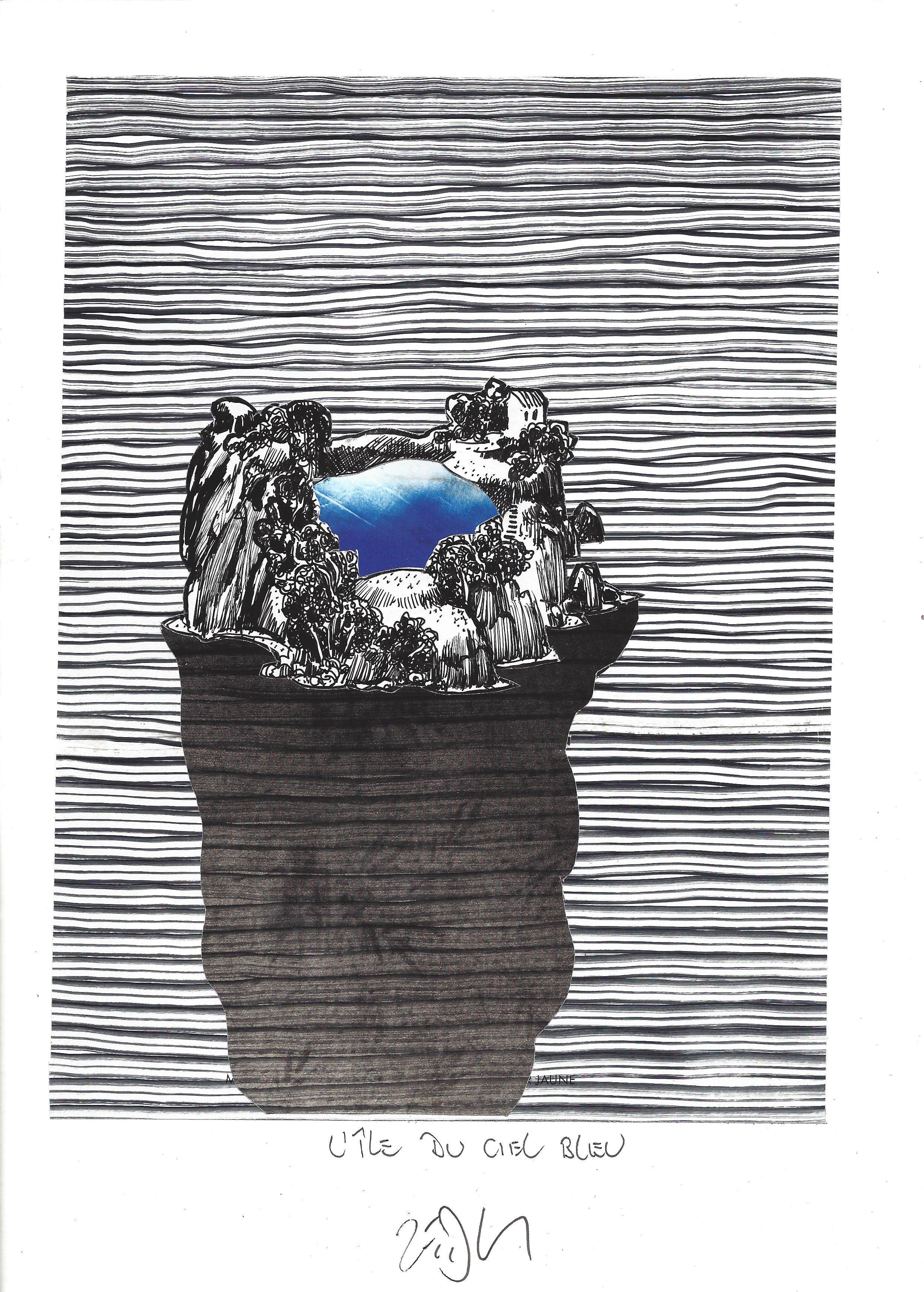 « Blue sky Island – L'île du ciel bleu »
