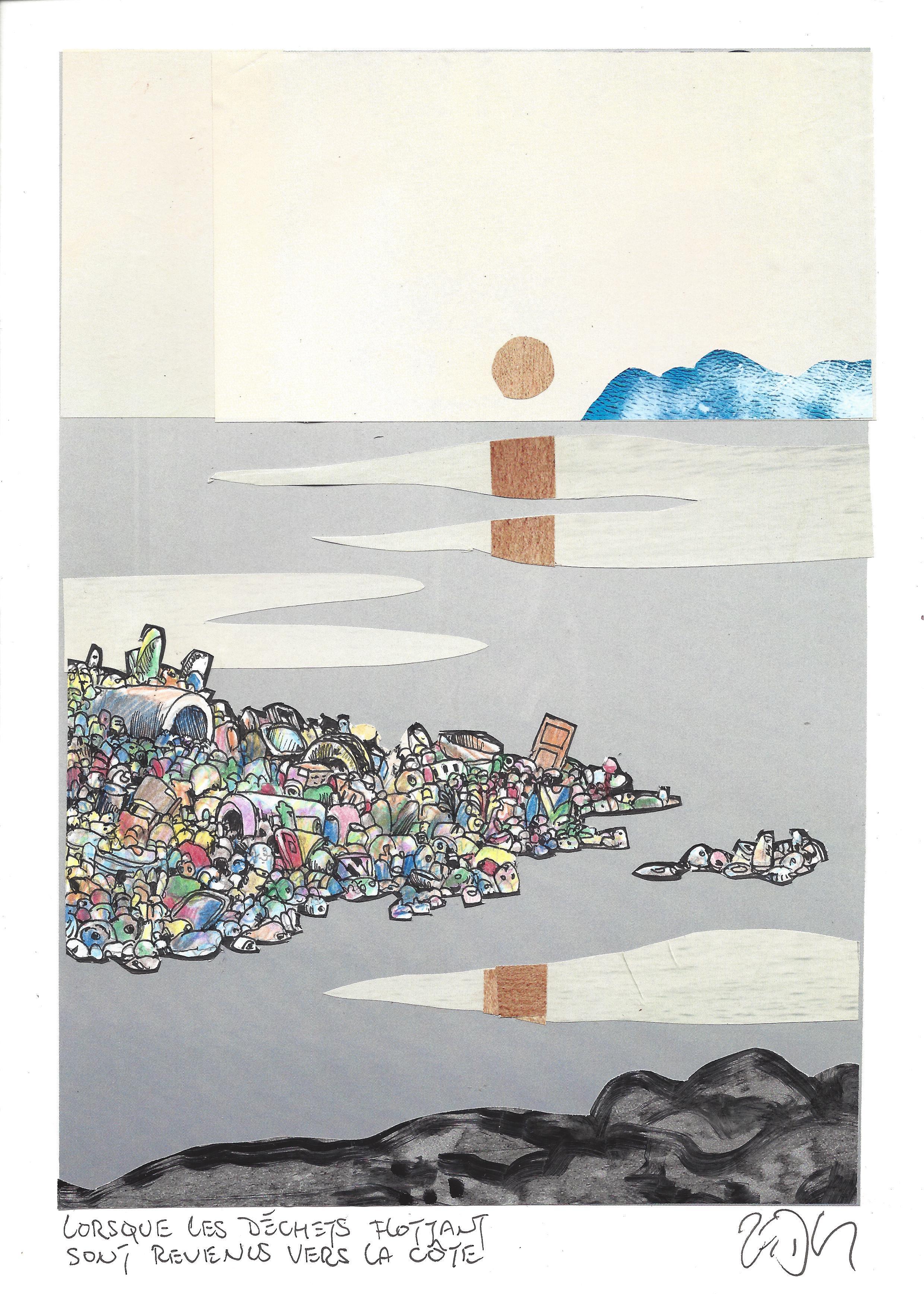 « The day the garbage came floating back in – Lorsque les déchets flottants sont revenus vers la côte »