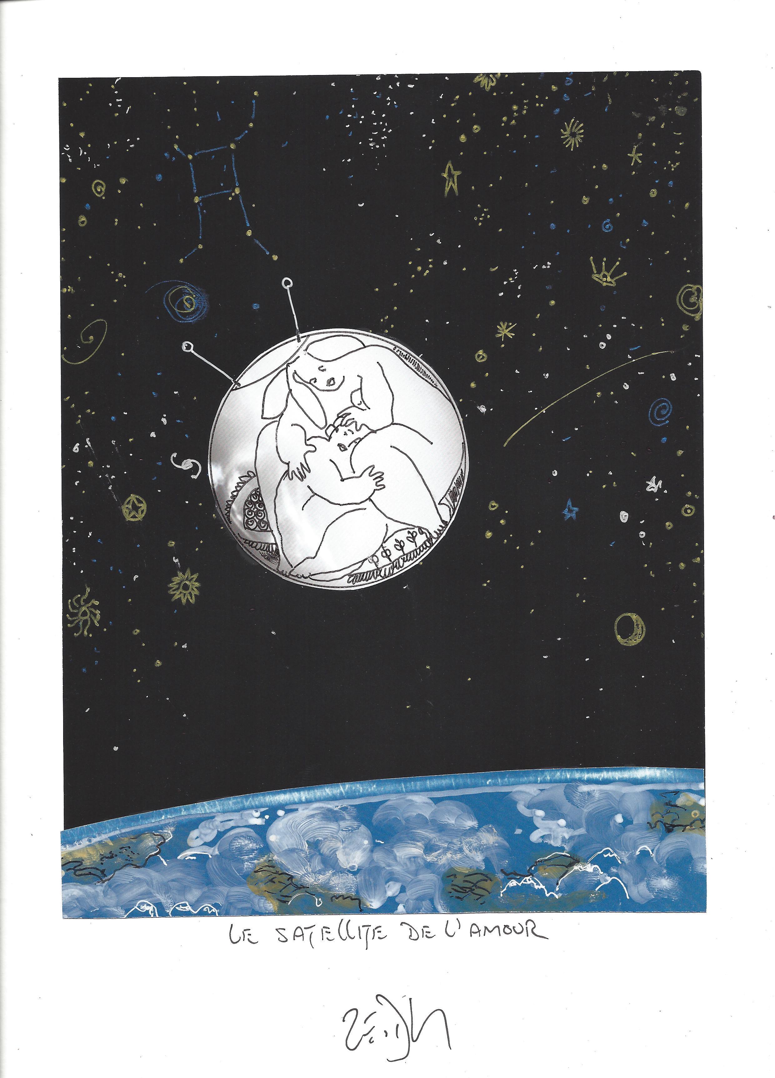« Satellite of love – Le satellite de l'amour »
