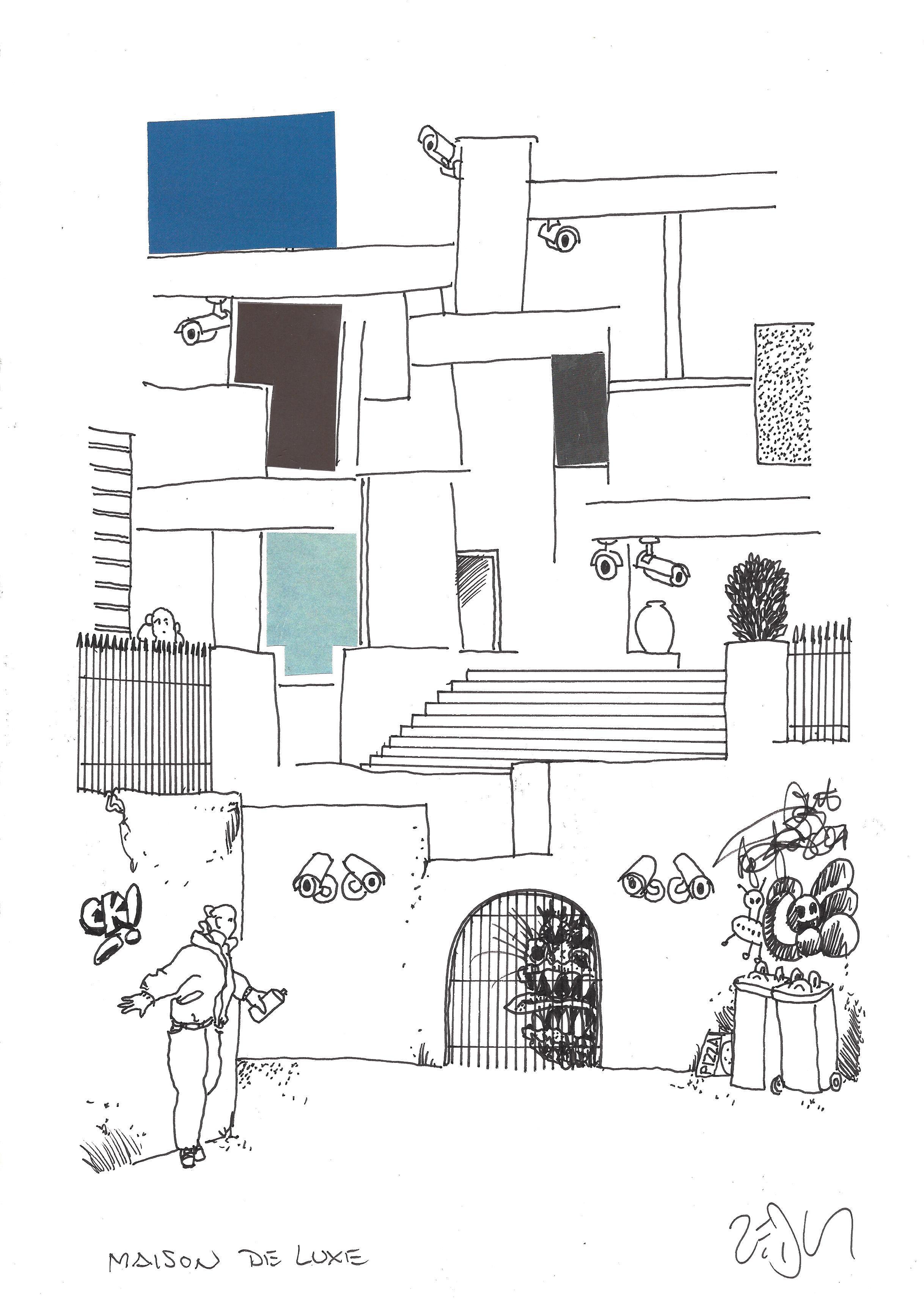 Drawing Of The Day 1880 Dessin Du Jour Frank Eric Zeidler